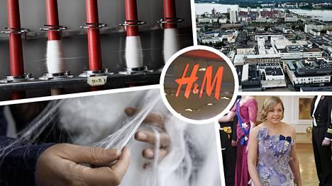 Spinnovan tehdas avautuu 2022 ja samalla yhtiö julkisti brändiyhteistyön H&M-ketjun kanssa. Spinnova tuottaa sellusta valmistettavaa tekstiilikuitua, josta tehty vaate on nähty Linnan juhlissa poliitikko Henna Virkkusen (kok) päällä.