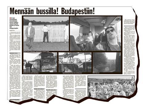 IS teki 20 vuotta sitten suomalaisten formulafanien kanssa rankkaa reissua bussilla Baltian ja Puolan läpi Hungaroringille.