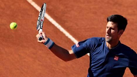 Novak Djokovicilla on edessään vaikea reitti finaaliin.