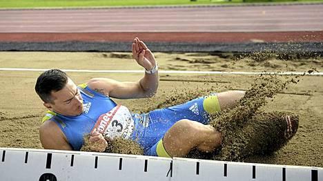 Tommi Evilän hyppy ei riittänyt olympialaisiin.