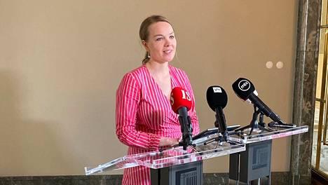 Katri Kulmuni ilmoitti eroavansa valtiovarainministerin tehtävästä 5. kesäkuuta.
