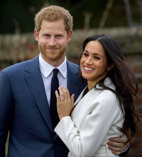 Prinssi Harry ja Meghan Markle kuvattuna vuonna 2017.