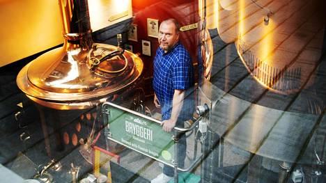 Pitkään ravintola-alalla toiminut Olli Majanen on Bryggeri Helsingin toimitusjohtaja.