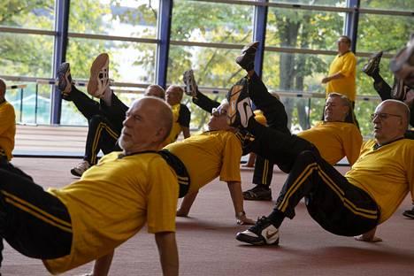 Aarnen tallin treeneissä panostetaan lihaskuntoon, tasapainoon ja liikkuvuuteen.