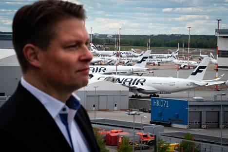 Finnairin toimitusjohtaja Topi Manner kertoo, että rahtikysyntä on ollut pandemian aikana hyvää.