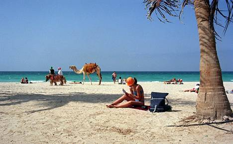 Dubai on myös suomalaisten suosima turistikohde.