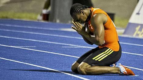 Yohan Blake on huippukunnossa ennen olympialaisia.