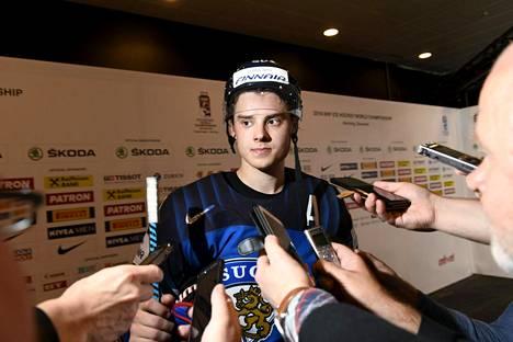 Sebastian Aho on tehnyt MM-turnauksen kahdessa ottelussa jo peräti 10 tehopistettä.
