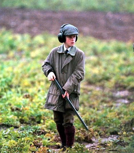 Prinssi Harryn tiedetään olleen kiinnostunut metsästyksestä.