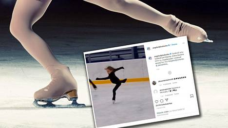 Alena Zhilina hätkähdytti sosiaalisen median seuraajia.
