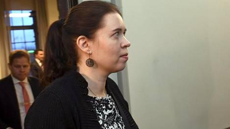 Vasemmistoliiton kansanedustaja Anna Kontula otettiin kiinni Israelissa maanantaina.