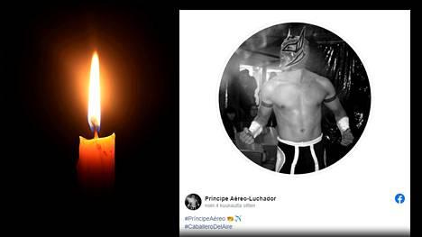 Luis Angel Salazar kuoli Meksikossa kesken showpainitapahtuman.