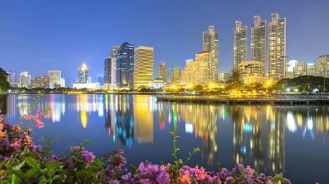 Suosituin matkailukaupunki on selvityksen mukaan Bangkok.