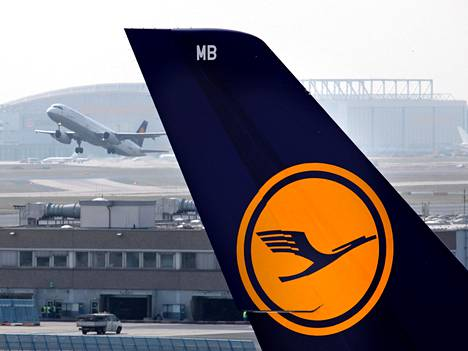 Kuvituskuvaa Frankfurtin lentokentältä.