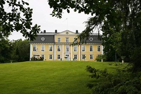 Mustion linna Raaseporissa.