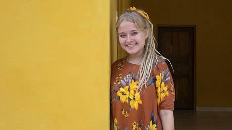 Viola Wallenius lähti Keniaan ensimmäisen kerran 18-vuotiaana.