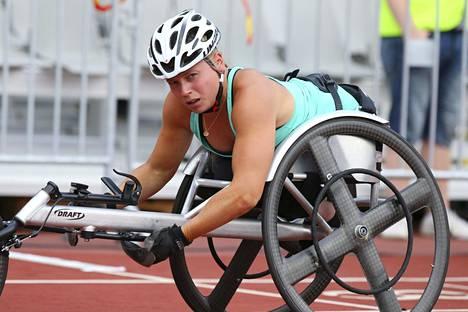 Amanda Kotaja oli seitsemäs 400 metrin kisassa.