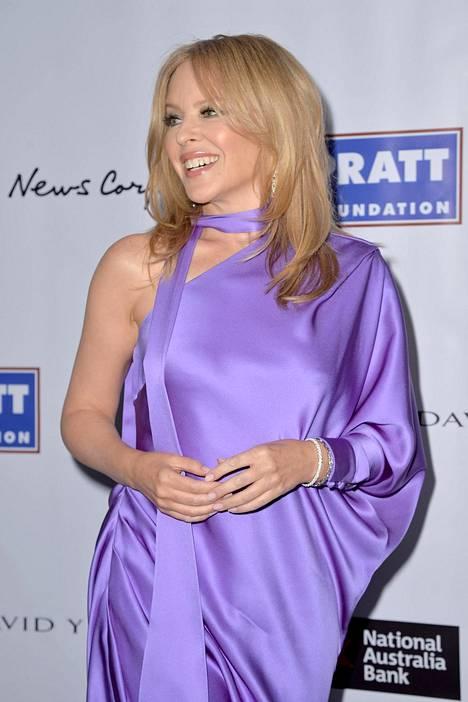 Kylie Minogue tammikuussa 2020.