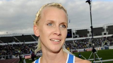 Sandra Eriksson voitti Södertäljessä maastojuoksukisan.