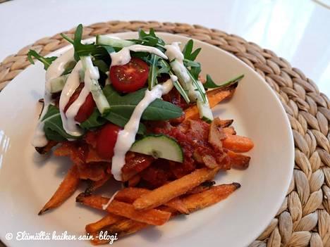 Vebab eli vegaaninen kebab on löytänyt tiensä Jasun perheen keittiöön.