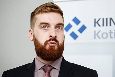 PTT:n ekonomisti Lauri Vuori.