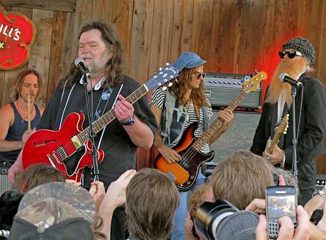 ZZ Topin Billy Gibbons ja Roky Erickson keikkailivat South by Southwest festivaalilla.