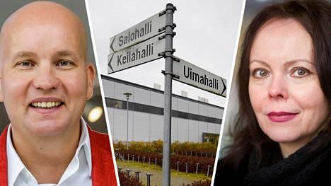 """Kim Väisänen lupautui maksamaan Jaana Haapasalolle ne 500 euroa, joita Haapasalo vaati Salon kaupungilta korvauksena """"mielipahasta ja liikunnan ilon katoamisesta""""."""