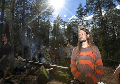 Pälkäneläinen Matti Aalto toimii vielä runsaan viikon ajan kokoontuvan Rainbow-leirin yhteyshenkilönä.