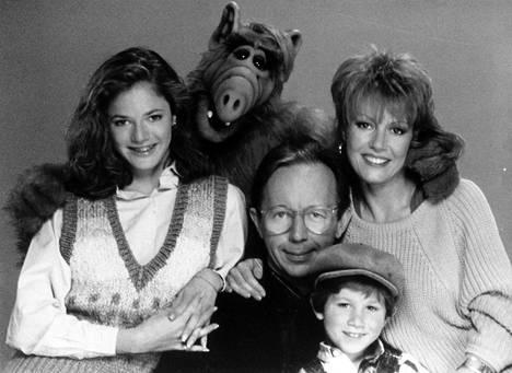 Alf-sarjaa seurattiin 80-luvulla monilla kotisohvilla myös Suomessa.