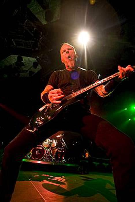 Metallican sedät soittivat eilen Helsingissä.