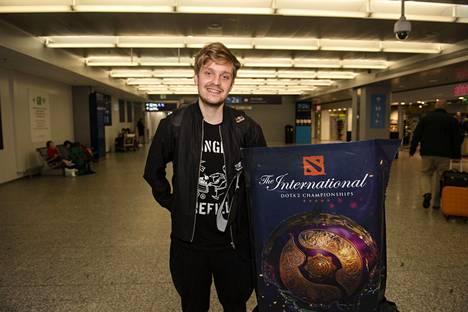 Väsynyt, mutta onnellinen Vainikka palasi Suomeen tiistaiaamuna 27. elokuuta. Kiinassa pelattu turnaus päättyi sunnuntaina 25. elokuuta.