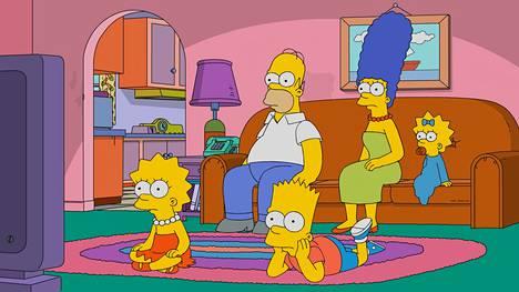 Simpsonit on maaliman tunnetuin animaatiosarja.