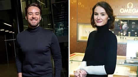 Mikko Leppilampi julkaisi romanttisen kuvan Beata-rakkaansa kanssa.