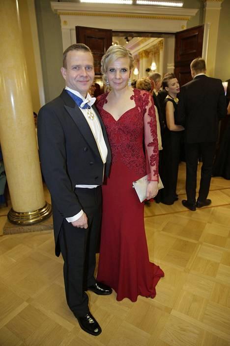 Petteri Orpo ja Niina Kanniainen-Orpo.