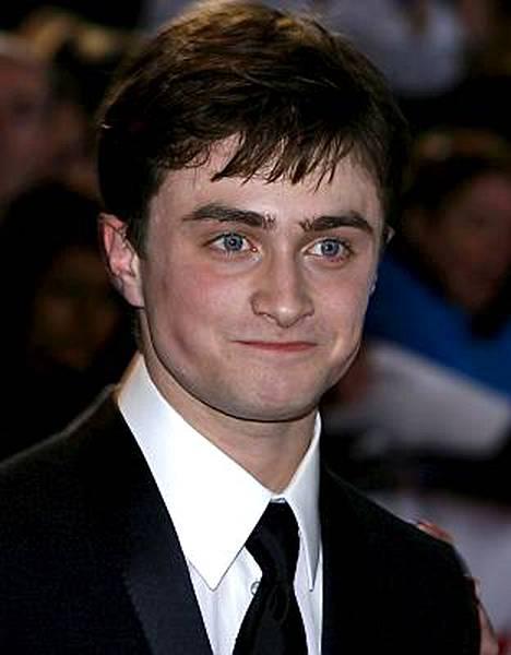 Potter-elokuvien tähti Daniel Radcliffe sai mieheltä pusun.