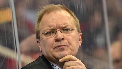 Kalle Kaskinen on TPS:n päävalmentaja.