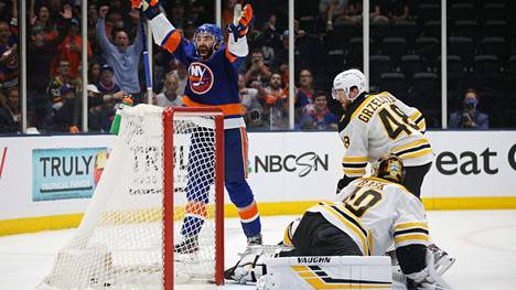 Rask oli Bostonin maalilla voimaton Islandersin edessä.