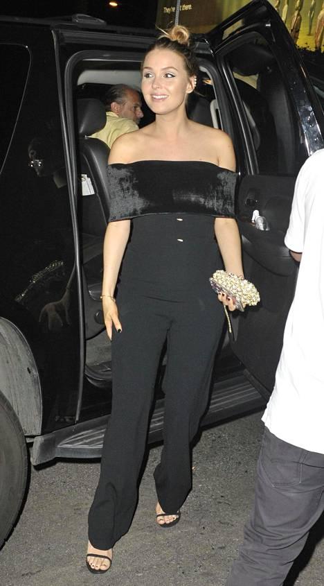 Näyttelijä Camilla Luddington.