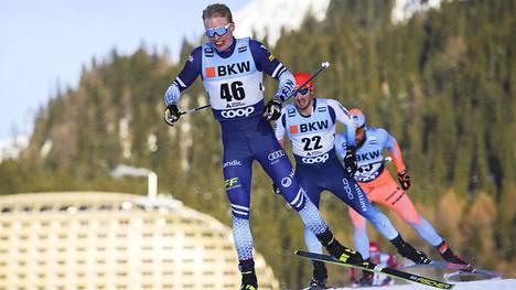Iivo Niskanen hiihti neljänneksi Davosin maailmancupin kisassa.