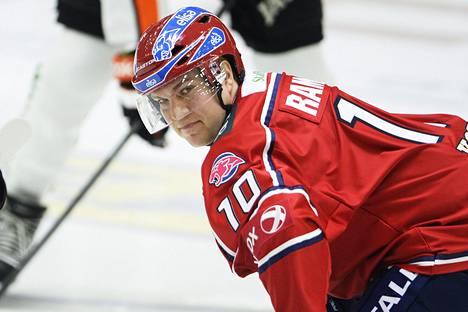 HIFK:n hyökkääjä Teemu Ramstedt.