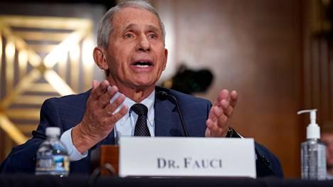Anthony Fauci, 80, on johtanut Yhdysvaltojen Allergia- ja infektiotautien instituuttia vuodesta 1984 lähtien.