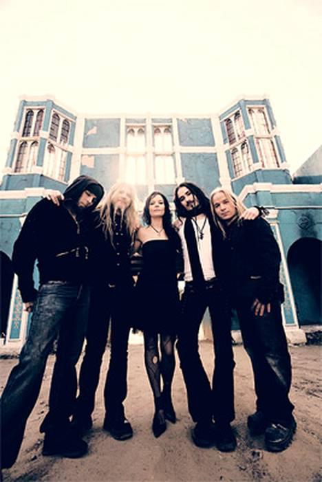 Nightwish myy hyvin.