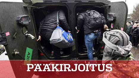 Uudet alokkaat aloittivat palveluksensa Santahaminan varuskunnassa Helsingissä 6. tammikuuta 2020.