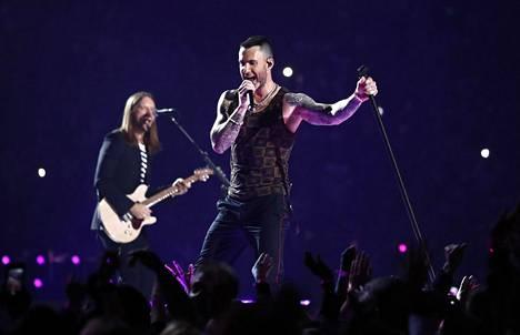 Maroon 5 on yksi maailman kuunnelluimpia yhtyeitä.