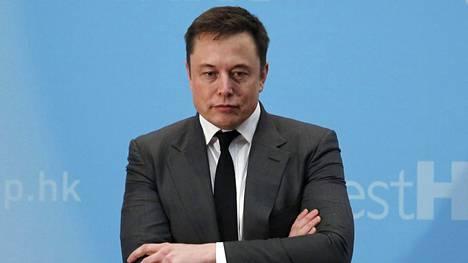 Elon Musk Hong Kongissa 26. tammikuuta.