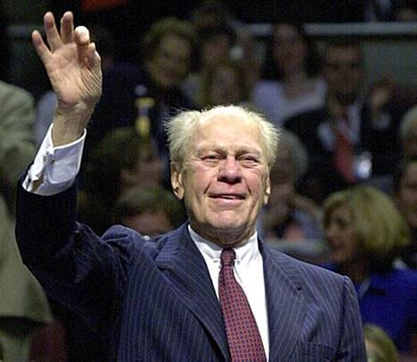 Gerald Ford nousi virkaansa ilman vaaleja.