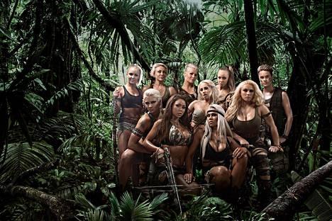 Viidakon tähtöset -tosi-tv-ohjelmaa kuvattiin kolme tuotantokautta.