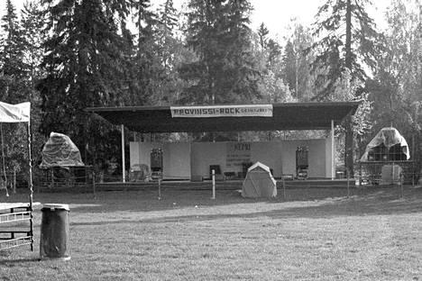 Kesän 1979 Provinssirock oli yksipäiväinen ja käytössä oli vain yksi esiintymislava. Juontajana toimi Jussi Raittinen ja liput maksoivat 25/10 markkaa.