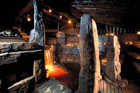 Onko tässä Suomen kaunein sauna?