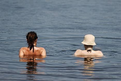 Uiminen viilentää kehoa mukavasti.